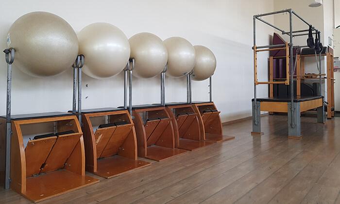3 אימוני פילאטיס מכשירים במכון Body Culture, משכית הרצליה