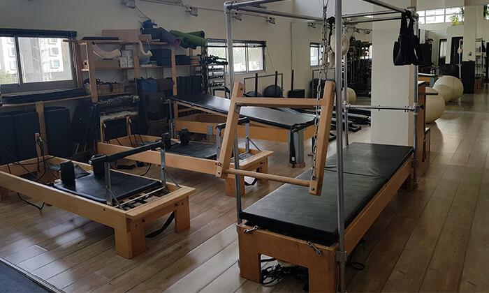 4 אימוני פילאטיס מכשירים במכון Body Culture, משכית הרצליה