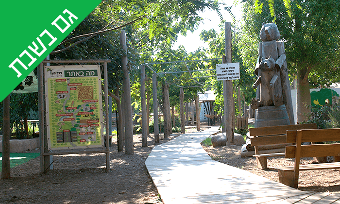 6 כניסה לפארק הילדים 'דרך העץ', שדמות דבורה