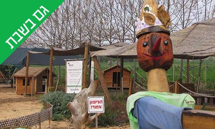 2 כניסה לפארק הילדים 'דרך העץ', שדמות דבורה