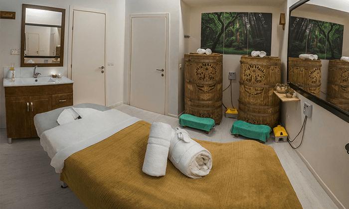 2 עיסוי ב-Dream Spa, הרצליה