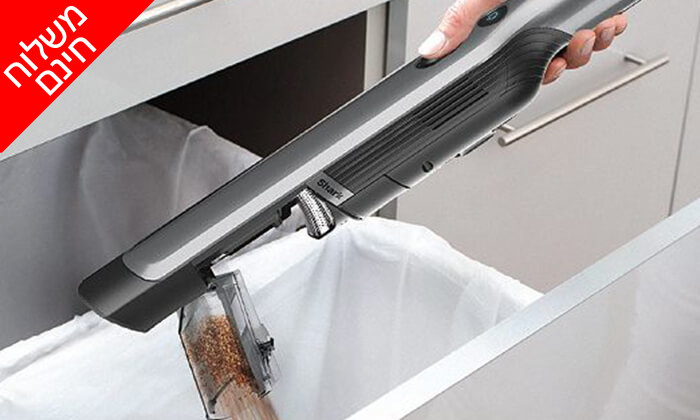6 שואב אבק אלחוטי Shark דגם WV250 - משלוח חינם !