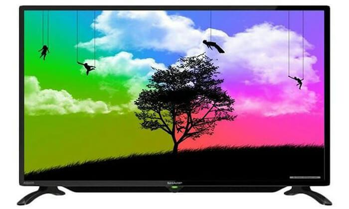 2 טלוויזיה SHARP HD, מסך 32 אינץ'