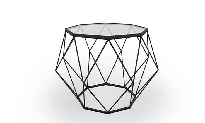 3 שולחן סלון דגם יהלום 9
