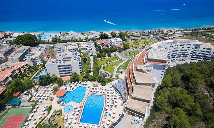 3 מאי-יוני ברודוס - שמש, חופים ומלון 5 כוכבים מומלץ