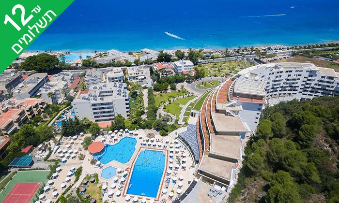 3 יוני ברודוס - שמש, חופים ומלון 5 כוכבים מומלץ