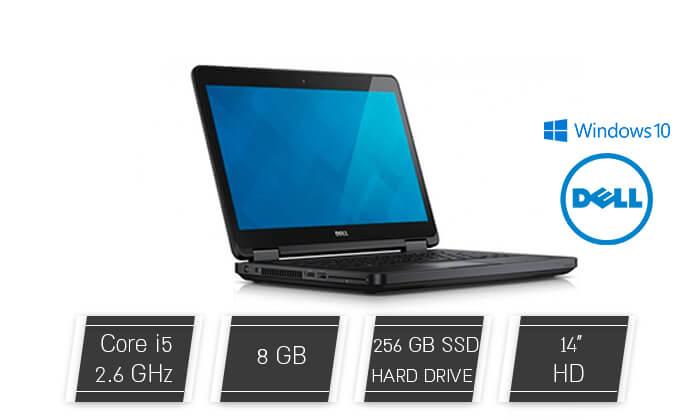 2 מחשב נייד דל DELL עם מסך 14 אינץ' - משלוח חינם