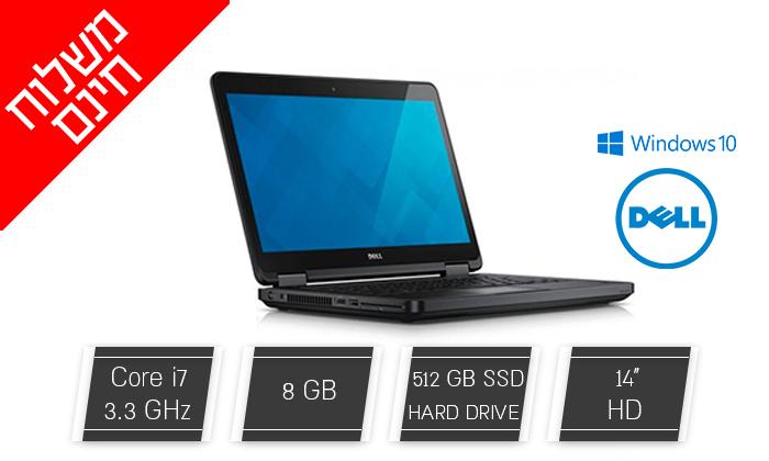 2 מחשב נייד דל DELL עם מסך 14 אינץ' וכרטיס גרפי GeForce - משלוח חינם!