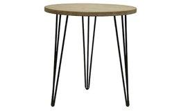 שולחן צד עגול דגם סימפל