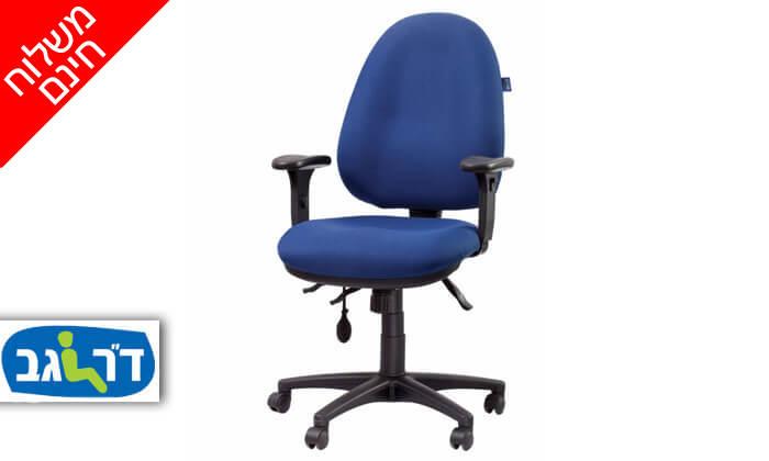 """2 ד""""ר גב: כסא אורתופדי FOCUS- משלוח חינם!"""