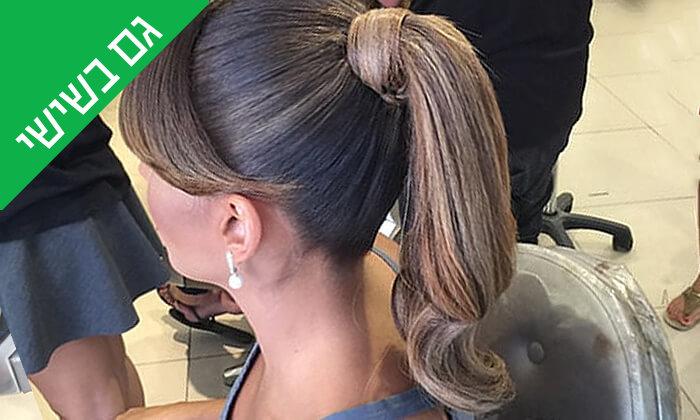 6 עיצוב שיער בסטודיוברק בן חיון, פרישמן תל אביב
