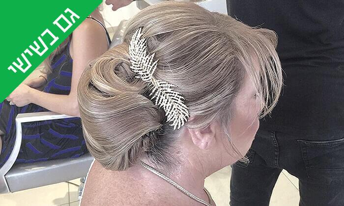 9 עיצוב שיער בסטודיוברק בן חיון, פרישמן תל אביב