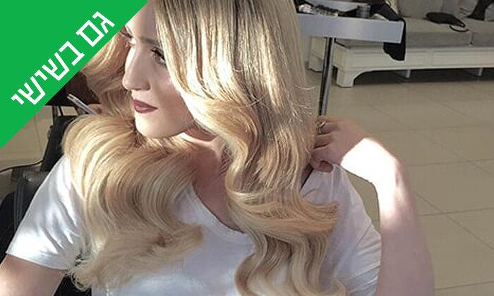 8 עיצוב שיער בסטודיוברק בן חיון, פרישמן תל אביב