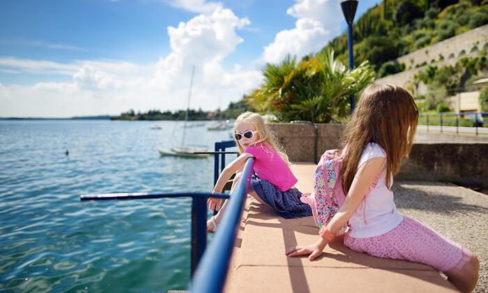 4 יולי-אוגוסט למשפחות בצפון איטליה - פארק גארדלנד, פארק עולם הקסם, שייט באגם גארדה ועוד
