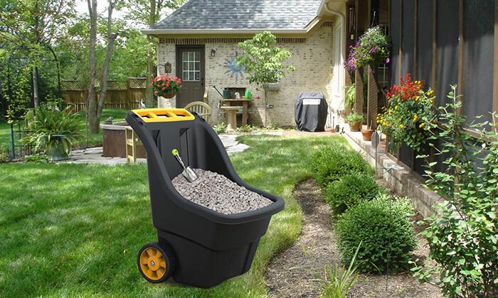3 כתר: מריצה לגינה 150 ליטר