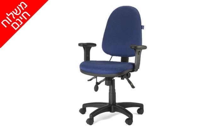 """4 ד""""ר גב: כסא אורתופדי ERGO BACK- משלוח חינם!"""
