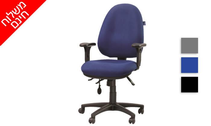 """3 ד""""ר גב: כסא אורתופדי FOCUS - משלוח חינם!"""