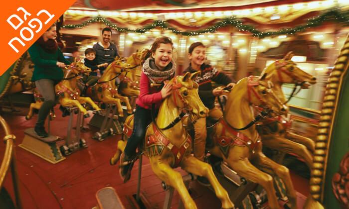 4 טיול משפחות מאורגן לפריז, בריסל ואמסטרדם, כולל פארק דיסנילנד ואפטלינג, גם בחגים