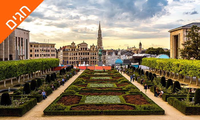 7 טיול משפחות מאורגן לפריז, בריסל ואמסטרדם, כולל פארק דיסנילנד ואפטלינג, גם בחגים