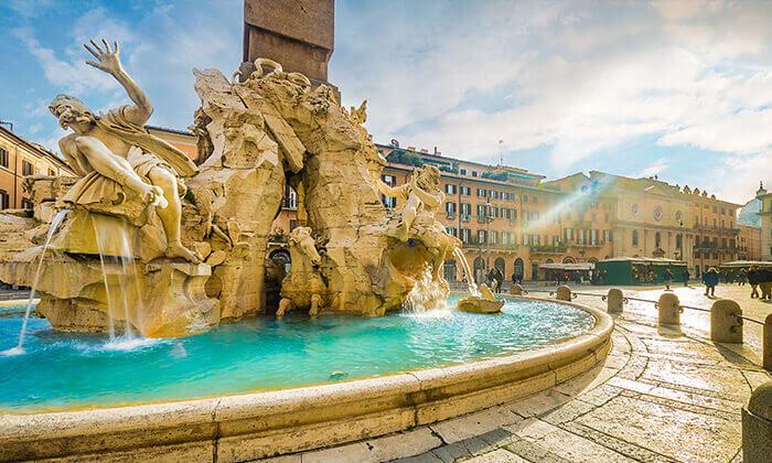 """2 פברואר-מרץברומא - העיר הכי רומנטית, האתרים הכי יפים, האוכל הכי טעים. כולל סופ""""ש"""