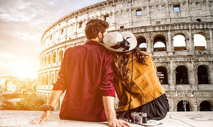 """3 פברואר-מרץברומא - העיר הכי רומנטית, האתרים הכי יפים, האוכל הכי טעים. כולל סופ""""ש"""