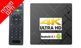 סטרימר ANDROID 8.1 TV BOX4K