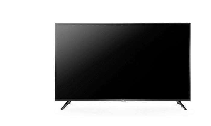 3 טלוויזיה חכמה TCL 4K, מסך 43 אינץ'