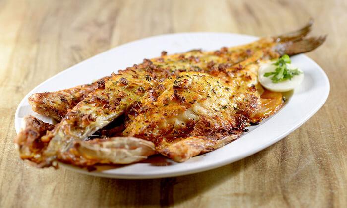 2 ארוחה זוגית בדרבי בר דגים, מרינה הרצליה