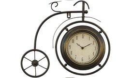 שעון קיר בצורת אופניים