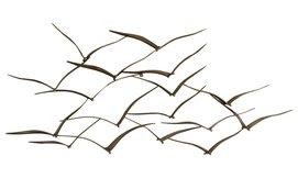 קישוט קיר דגם ציפורים נודדות