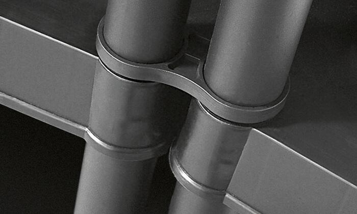4 כתר: כוננית 5 מדפים דגם 16 אינץ' פלוס