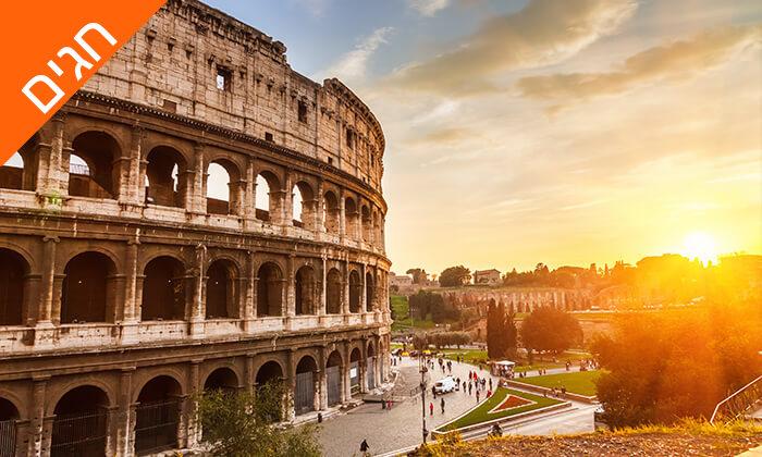 4 איטליה בשפה הרוסית - טיול מאורגן 8 ימים, כולל מוזיאון הוותיקן והקפלה הסיסטינית