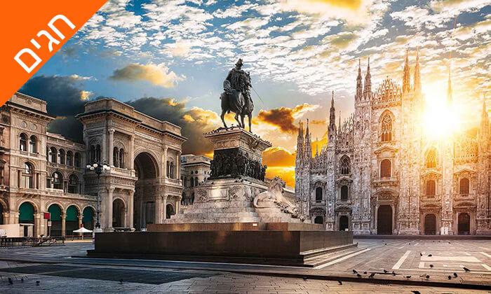 6 איטליה בשפה הרוסית - טיול מאורגן 8 ימים, כולל מוזיאון הוותיקן והקפלה הסיסטינית