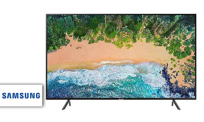 2 טלוויזיה חכמה סמסונג 4K SAMSUNG, מסך 65 אינץ'
