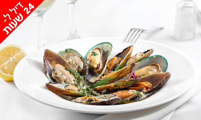 4 דיל ל-24 שעות: ארוחה זוגית ב-Medzzo, מרינה הרצליה