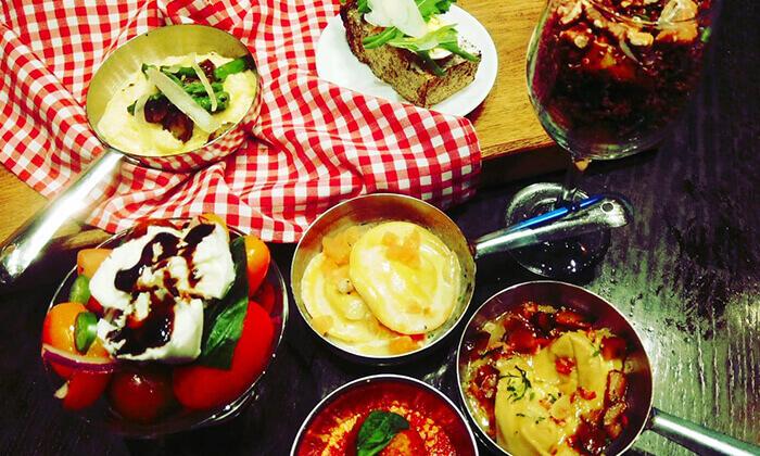 3 ארוחה זוגית בוולנטיין, במסעדת ג'ויה ברחוב הארבעה תל אביב