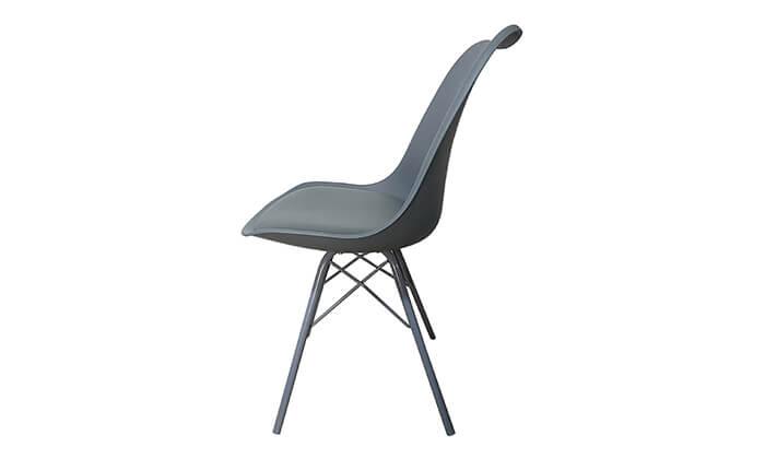 9 כיסא אוכל עם מושב מרופד