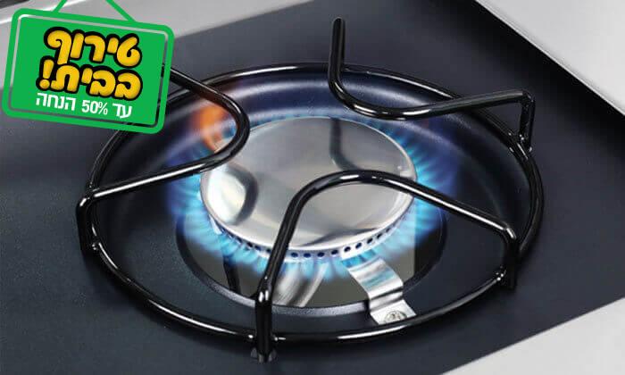 5 גריל גז 4 מבערים SONABCHEF כולל מעשנת מתנה