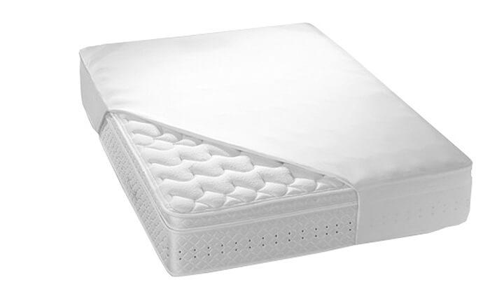 2 מגן מזרן למיטה ברוחב וחצי