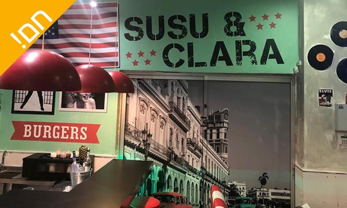 3 ארוחת המבורגר ב-Susu&Clara, בת ים