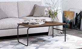 שולחן סלון מלבני מעץ