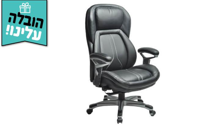 """3 ד""""ר גב: כסא מנהלים אורתופדי CHAMP - משלוח חינם!"""