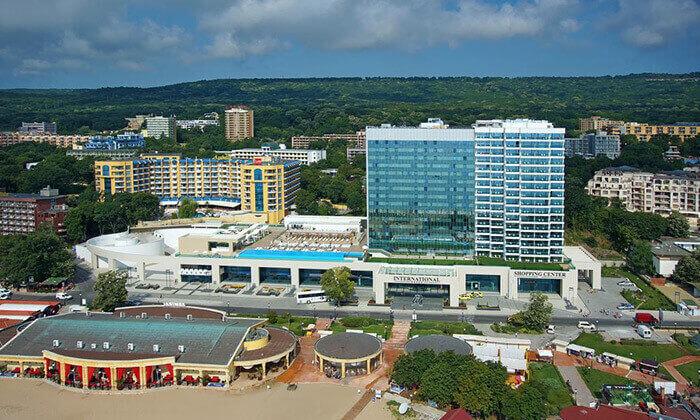 """5 אוגוסט-ספטמבר בוורנה - שופינג, קזינו ומלון 5* International, כולל סופ""""ש"""