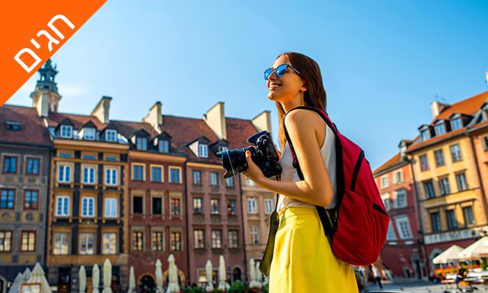 3 חופשה בוורשה - שופינג, בילויים ומלונות מפנקים, כולל חגים