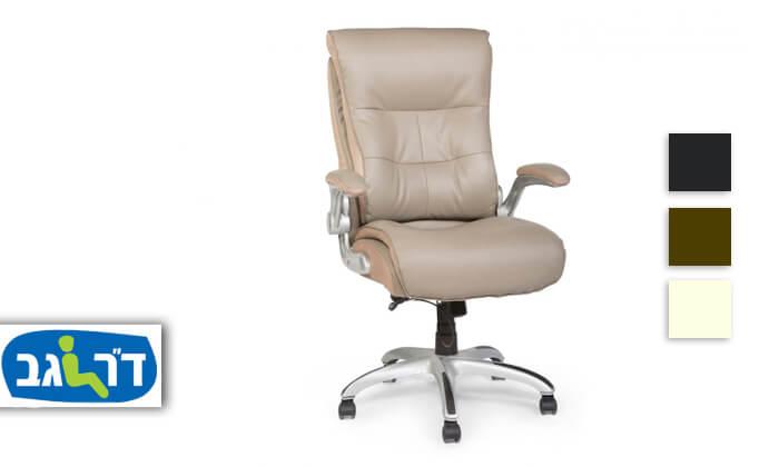 """2 ד""""ר גב: כסא מנהלים אורתופדי SHAPE"""