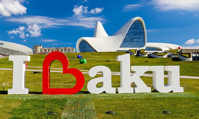 """2 יוני-אוגוסט בבאקו, אזרבייג'ן - שילוב מושלם של פריז ודובאי, כולל סופ""""ש"""