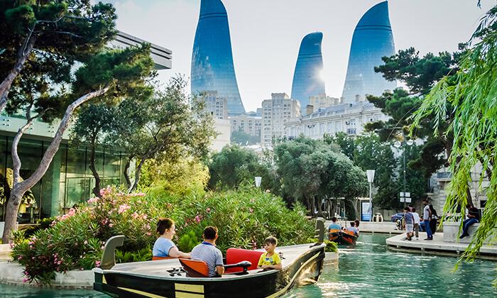 """3 יוני-אוגוסט בבאקו, אזרבייג'ן - שילוב מושלם של פריז ודובאי, כולל סופ""""ש"""