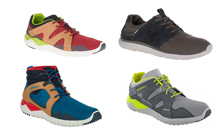 2 מירל MERRELL - נעלי הליכה לגברים