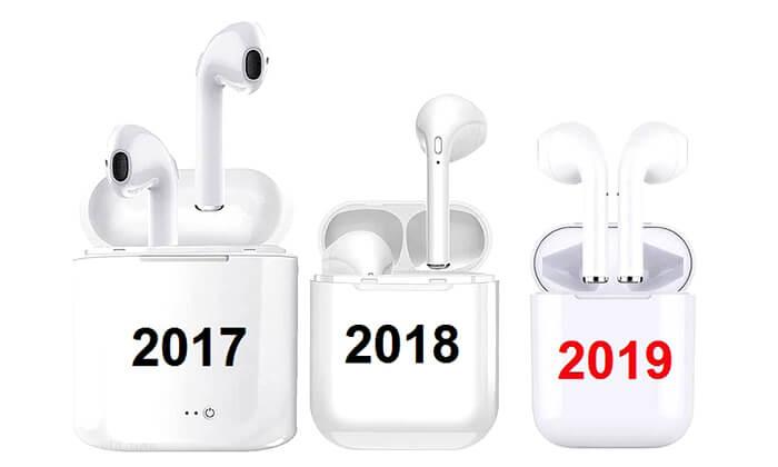 3 אוזניות בלוטוס אלחוטיות TWS