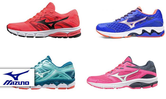 2 נעלי ריצה לנשים MIZUNO
